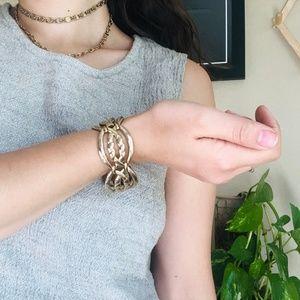 ⌈Vintage⌋ Monet Gold Bracelet